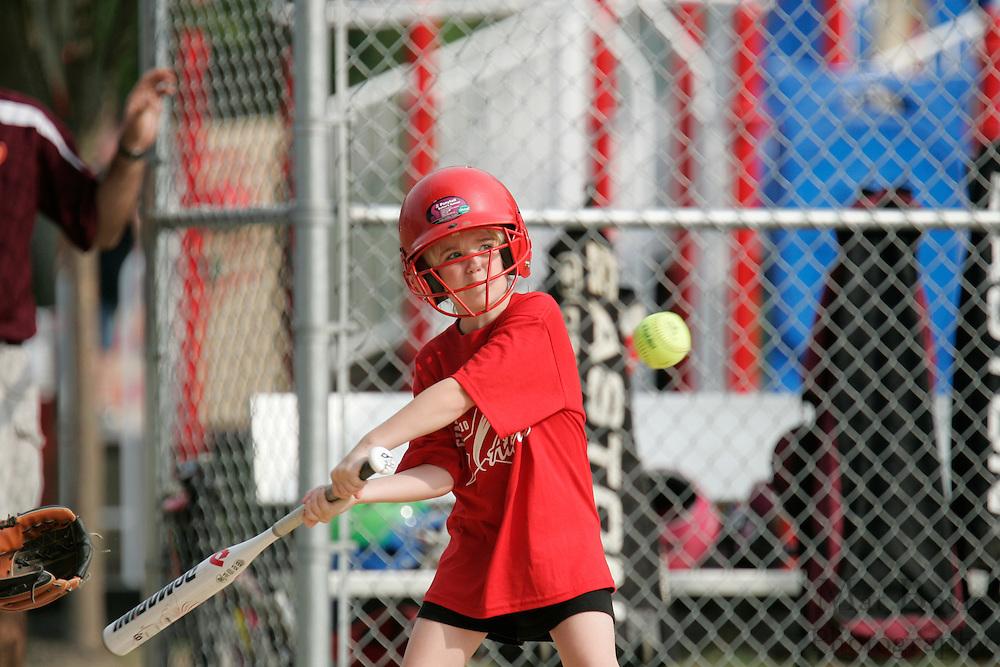 Cinaminson Little League annual McKeever Softball Tournament - U8 division.