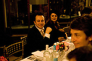 MARON CASTILLO;  DETMAR BLOW; . Henry Moore Exhibition. Hauser and Wirth. 15 Old Bond St. and afterwards dinner at the Burlington arcade. 14 October 2008 *** Local Caption *** -DO NOT ARCHIVE -Copyright Photograph by Dafydd Jones. 248 Clapham Rd. London SW9 0PZ. Tel 0207 820 0771. www.dafjones.com