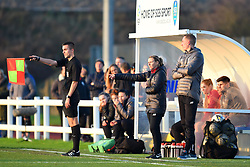 Liverpool Women manager Vicky Jepson - Mandatory by-line: Paul Knight/JMP - 17/11/2018 - FOOTBALL - Stoke Gifford Stadium - Bristol, England - Bristol City Women v Liverpool Women - FA Women's Super League 1