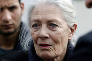 Jan. 5, 2016 - Athens, attica, Greece - <br /> <br /> Vanessa Redgrave Visits Refugee Centers in Greece<br /> <br /> British actress Vanessa Redgrave visited the refugee and migrant hospitality camp in Eleonas, Athens on Tuesday, January 5, 2015, accompanied by Greeces Deputy Immigration Minister Yiannis Mouzalas.<br /> ©Exclusivepix Media