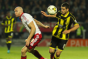 Sheffield United forward Conor Sammon heads the ball into the box during the Sky Bet League 1 match between Burton Albion and Sheffield Utd at the Pirelli Stadium, Burton upon Trent, England on 29 September 2015. Photo by Aaron Lupton.