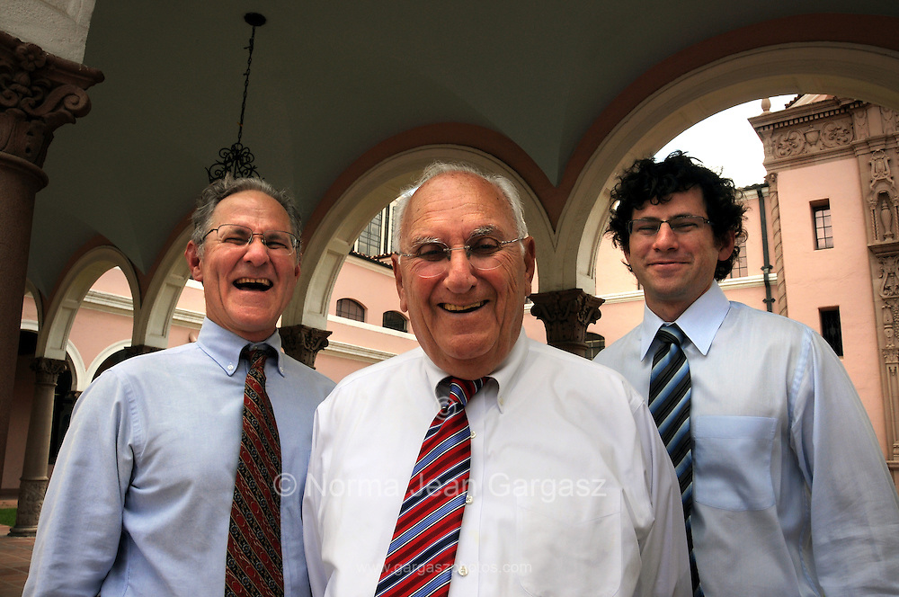 Jonathan Rothschild, (left), Lowell E. Rothschild, and Isaac D. Rothschild, attorneys with Mesch, Clark, and Rothschild.