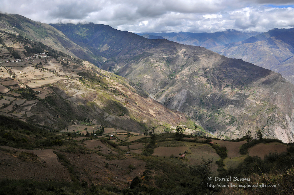 Mountain view near Quiabaya, Bolivia