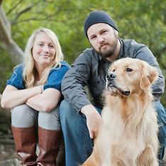 Morgan, Tom and Barkley | Couples Portraits