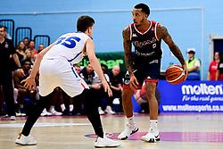 ,Gentry Thomas of Bristol Flyers - Photo mandatory by-line: Ryan Hiscott/JMP - 15/11/2019 - BASKETBALL - SGS Wise Arena - Bristol, England - Bristol Flyers v London City Royals - British Basketball League Cup
