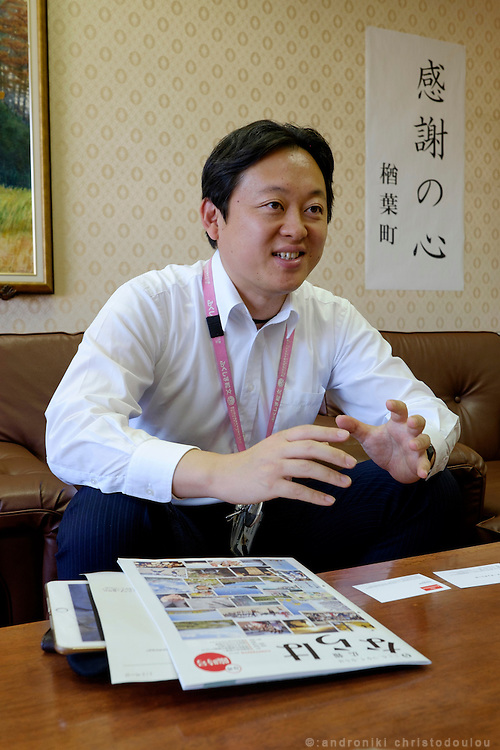 Yusuke IGARI: spokesman for Naraha Town Office