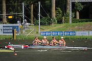 Amsterdam, NETHERLANDS,USA BM4-,  2011 FISA U23 World Rowing Championships, Wednesday, 20/07/2011 [Mandatory credit:  Intersport Images].