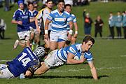 College Rugby - St Patrick's Silverstream v St Patrick's College Wellington at St Patrick's Silverstream, Upper Hutt, New Zealand on Wednesday 26 July 2017.<br /> Photo by Masanori Udagawa. <br /> www.photowellington.photoshelter.com