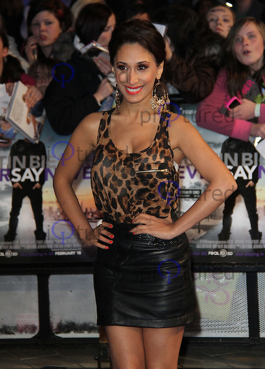 Preeya Kalidas Justin Bieber: Never Say Never European Premiere, O2 Cineworld, London, UK, 16 February 2011: Contact: Ian@Piqtured.com +44(0)791 626 2580 (Picture by Richard Goldschmidt)