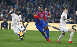 February 27, 2019 - London, England, United Kingdom - L-R Manchester United's Fred and Crystal Palace's Michy Batshuay.during English Premier League between Crystal Palace and Manchester  United at Selhurst Park stadium , London, England on 27 Feb 2019. (Credit Image: © Action Foto Sport/NurPhoto via ZUMA Press)