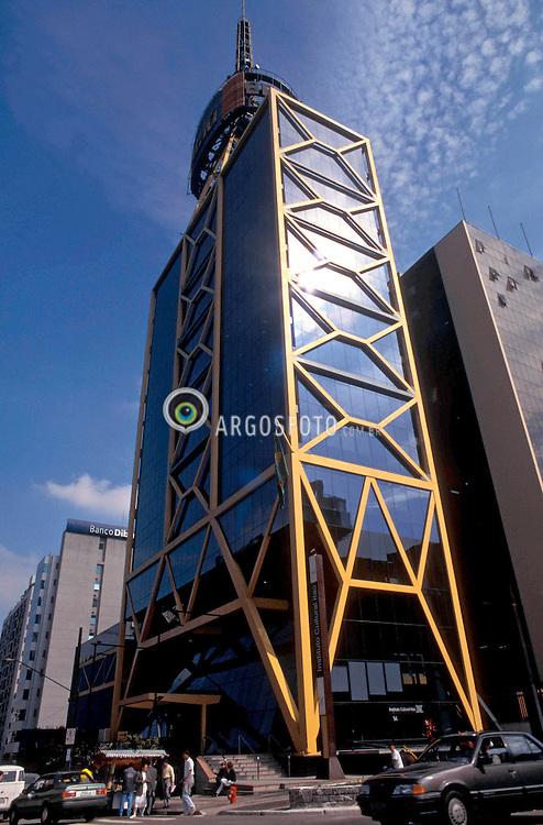 Sao Paulo, Sao Paulo, Brasil. 2000..Instituto Cultural Itau, ou Itau Cultural, na Avenida Paulista./Bank Itau Cultural Institute, in Paulista Avenue..Foto ©Adri Felden/Argosfoto