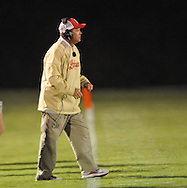Lafayette High coach Anthony Hart vs. Pontotoc in Oxford, Miss. on Friday, September 23, 2011. Lafayette won 48-7 for the school's 22nd consecutive win.