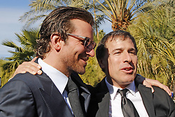 Actor Bradley Cooper and Director David O. Russell attend Variety's '10 Directors To Watch' brunch at Parker Palm Springs, January 6, 2013. Photo by Imago / i-Images...UK ONLY