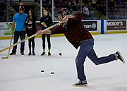 KELOWNA, CANADA - OCTOBER 04:  Total Restoration Promotion at the Kelowna Rockets game on October 04, 2017 at Prospera Place in Kelowna, British Columbia, Canada.  (Photo By Cindy Rogers/Nyasa Photography,  *** Local Caption ***
