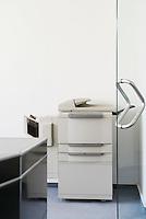 Photocopier in office