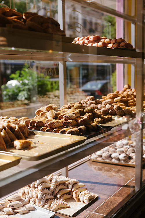 North-African pastry stores