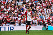 Southampton (35) Jan Bednarek during the The FA Cup match between Chelsea and Southampton at Wembley Stadium, London, England on 22 April 2018. Picture by Sebastian Frej.