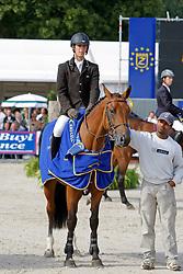 Boulanger Clément - Osibelle de Bausy<br /> World Championship Young Horses Lanaken 2008<br /> Photo Copyright Hippo Foto