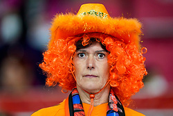 08-12-2019 JAP: Netherlands - Germany, Kumamoto<br /> First match Main Round Group1 at 24th IHF Women's Handball World Championship, Netherlands lost the first match against Germany with 23-25. / Dutch support, Orange