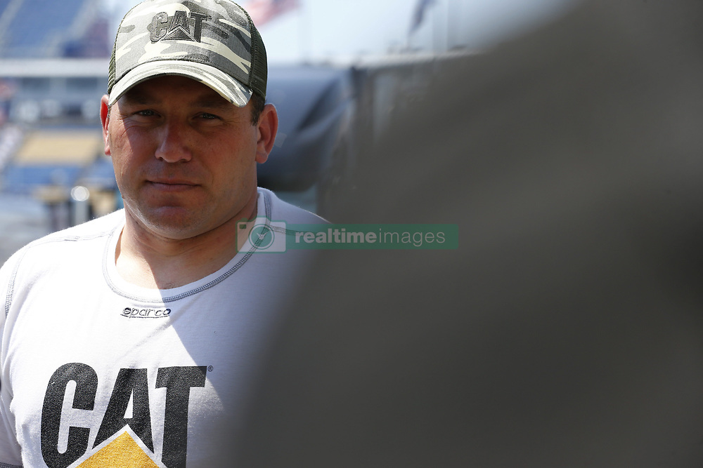 July 13, 2018 - Sparta, Kentucky, United States of America - Ryan Newman (31) hangs out in the garage during practice for the Quaker State 400 at Kentucky Speedway in Sparta, Kentucky. (Credit Image: © Chris Owens Asp Inc/ASP via ZUMA Wire)