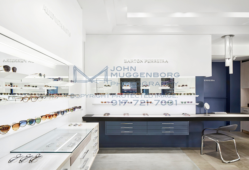 The Barton Perreira store in NYC. Photographed by John Muggenborg.
