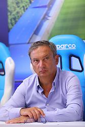 ANDREA MAGGI<br /> CONFERENZA DISSEQUESTRO STADIO PAOLO MAZZA DOPO LE VERIFICHE