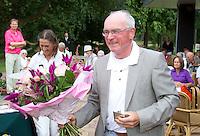 ARNHEM - Op de golfbaan de Rosendaelsche in Arnhem  het Internationaal Senioren Strokeplay Kampioenschap . Jart Sluiter (foto) werd derde. FOTO KOEN SUYK