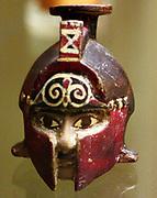 Helmeted head, from Kamiros. Terracotta, 1621.