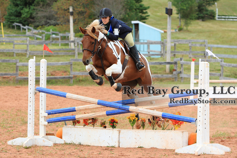 Laura Sloan and Splash at the 2009 Strathgartney Autumn Horse Trials in Bonshaw, PEI.
