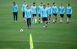 Players during Practice session of Slovenia team before World Cup Qualifying football match against National teams of Malta, on November 7, 2016 in NNC Brdo pri Kranju, Slovenia. Photo by Vid Ponikvar / Sportida
