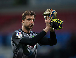 Tim Krul of Norwich City applauds the fans - Mandatory by-line: Jack Phillips/JMP - 16/02/2019 - FOOTBALL - University of Bolton Stadium - Bolton, England - Bolton Wanderers v Norwich City - English Football League Championship