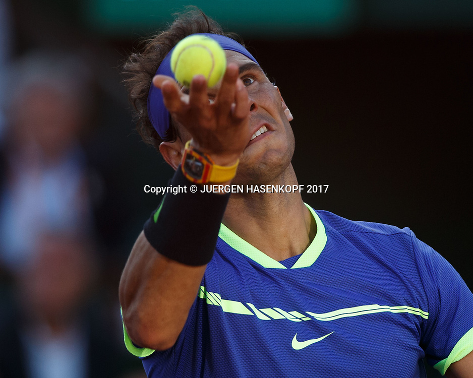 RAFAEL NADAL (ESP)<br /> <br /> Tennis - French Open 2017 - Grand Slam / ATP / WTA / ITF -  Roland Garros - Paris -  - France  - 9 June 2017.