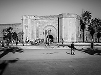 On the streets of Rabat, Morocco.