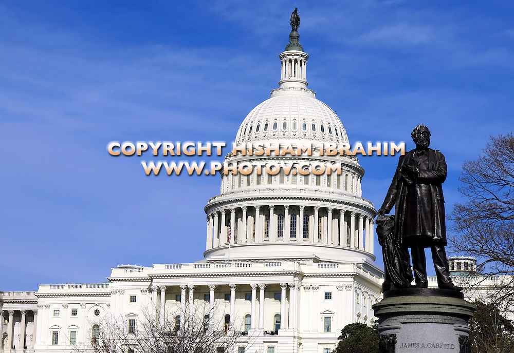 United States Capitol Building, Capitol Hill, Washington DC, USA.