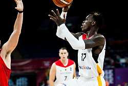 Dennis Schroder of Germany during basketball match between National Teams of Germany and Spain at Day 13 in Round of 16 of the FIBA EuroBasket 2017 at Sinan Erdem Dome in Istanbul, Turkey on September 12, 2017. Photo by Vid Ponikvar / Sportida