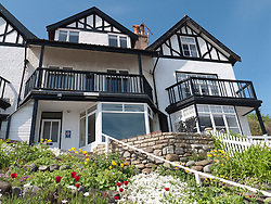 Seaside holiday flats at Sandsend, Whitby