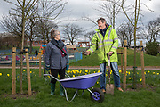 Jean Laurie & Nick Wright - Friends of Whitney Park Whitley Bay Big Local, Tyne & Wear.