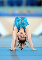 20 Aug 2016:  Grace Keogh, from Meath, peforms in the U9 Gymnastics.   2016 Community Games National Festival 2016.  Athlone Institute of Technology, Athlone, Co. Westmeath. Picture: Caroline Quinn