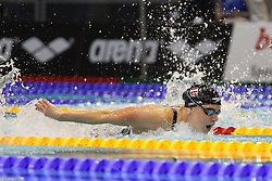 20.08.2014, Europa Sportpark, Berlin, GER, LEN, Schwimm EM 2014, 200m, Lagen, Frauen, Halbfinale, im Bild Lisa Zaiser (Oesterreich) // during the semifinal of women's 200m Medley of the LEN 2014 European Swimming Championships at the Europa Sportpark in Berlin, Germany on 2014/08/20. EXPA Pictures &copy; 2014, PhotoCredit: EXPA/ Eibner-Pressefoto/ Lau<br /> <br /> *****ATTENTION - OUT of GER*****