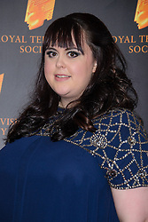 Sharon Rooney attends the RTS Programme Awards. London, United Kingdom. Tuesday, 18th March 2014. Picture by Chris Joseph / i-Images