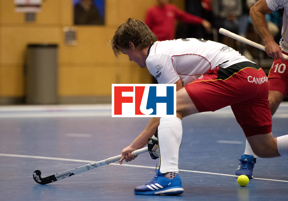 BERLIN - Indoor Hockey World Cup<br /> Austria - Belgium<br /> foto: BOON Tom<br /> WORLDSPORTPICS COPYRIGHT FRANK UIJLENBROEK