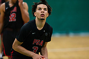 HAMPTON, VA May 26, 2018 - Nike EYBL Session 4. Cole Anthony 2019 #3 of PSA Cardinals shoots a free-throw. <br /> NOTE TO USER: Mandatory Copyright Notice: Photo by Jon Lopez / Nike