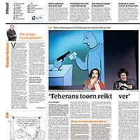 Parool 15 juni 2013: Iraanse verkiezingen in De Balie