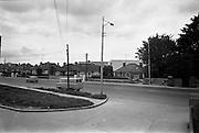 09/06/1967<br /> 06/09/1967<br /> 09 June 1967<br /> Views near St Theresa's Malahide Road, Dublin. Duncan van.