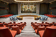United Nations Security Council Chamber - NYC by Rodney Bedsole, an architecture photographer based in Nashville and New York City.