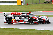 8 LMP1 Audi Sport Team Joest / Audi R18 / Lucas Di Grassi / Loic Duval / Oliver Jarvis during the FIA World Endurance Championship Qualifying at Silverstone, Towcester, United Kingdom on 15 April 2016. Photo by Craig McAllister.