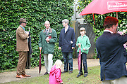 JULIUS THURGOOD, THE DUKE OF KENT AND TIM TAYLOR, Cartier Style et Luxe lunch. Goodwood.  24 June 2007.  -DO NOT ARCHIVE-© Copyright Photograph by Dafydd Jones. 248 Clapham Rd. London SW9 0PZ. Tel 0207 820 0771. www.dafjones.com.
