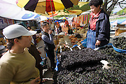 At the 5-day-market. Seaweed.