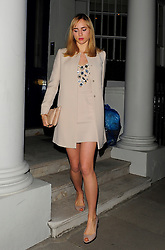 Models Cara Delevingne and Suki Waterhouse enjoy a night out to the popular Chiltern Firehouse in Marylebone, London, UK. 30/04/2014<br />
