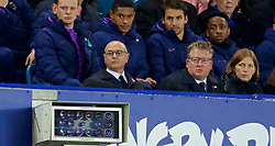 LIVERPOOL, ENGLAND - Sunday, November 3, 2019: Tottenham Hotspur's Chairman Daniel Levy during the FA Premier League match between Everton FC and Tottenham Hotspur FC at Goodison Park. (Pic by David Rawcliffe/Propaganda)